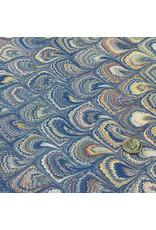 Talas Italian Marbled Paper FF Blue #824