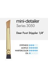 Princeton Mini Detail Deer Foot 1/4In
