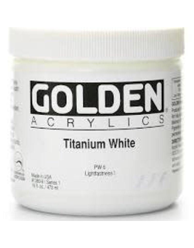 Golden Hb Titanium White 6oz Jar- 16 oz