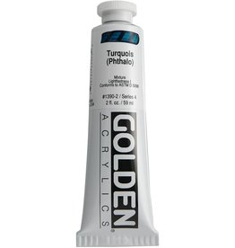 Golden Hb Turquois (Phthalo) 2oz Tube-2