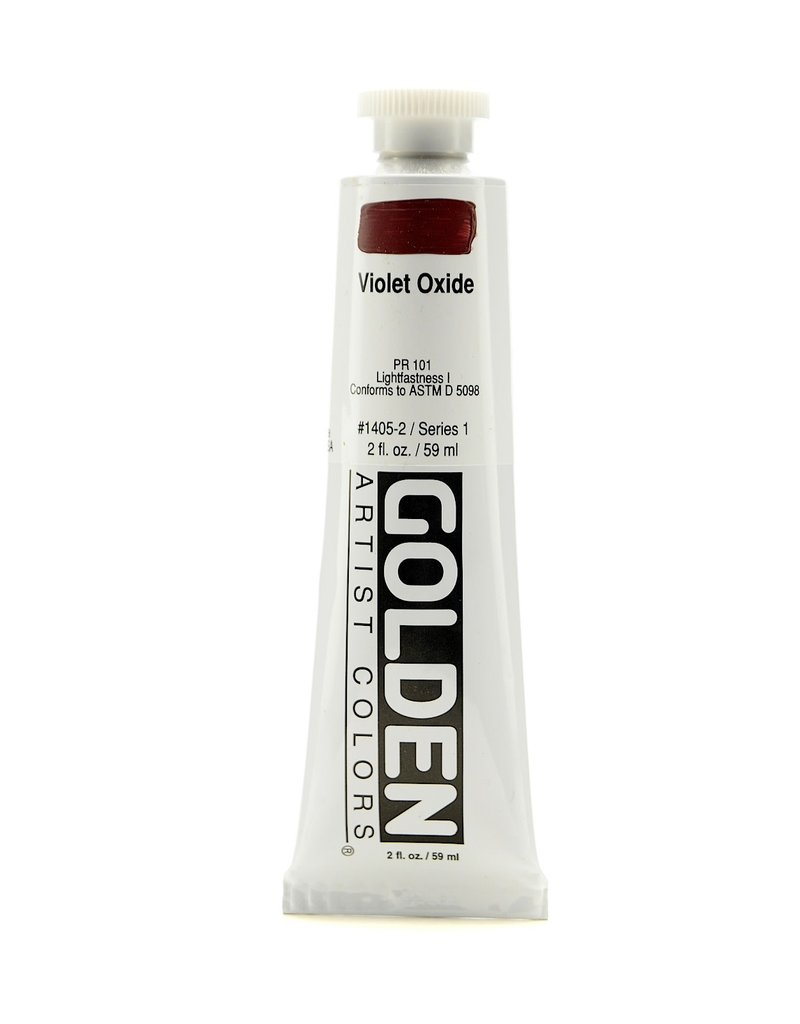 Golden Hb Violet Oxide 2oz Tube-2