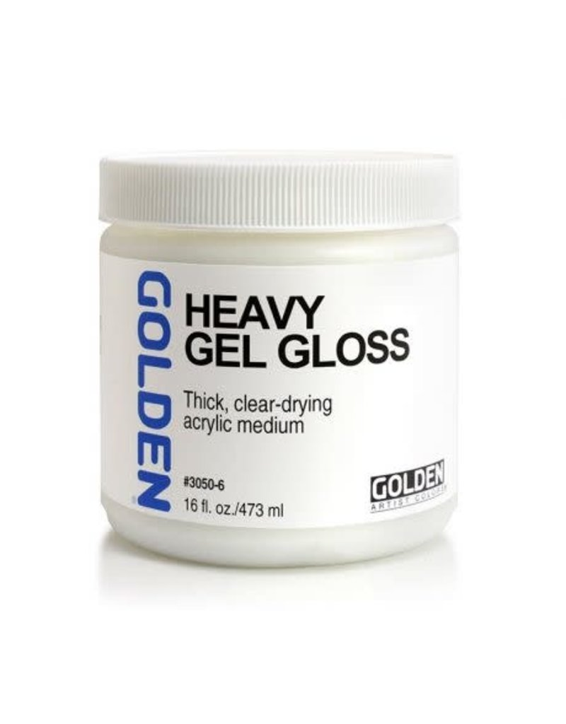 Golden Heavy Gel Gloss 16oz- 16 oz
