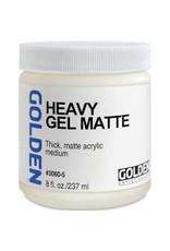 Golden Heavy Gel Matte 8oz- 8 oz
