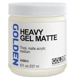 Golden Heavy Gel Matte 8oz- 8 oz