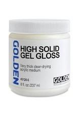 Golden High Solid Gel Gloss 8oz- 8 oz