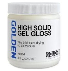 Golden High Solid Gel Gloss 8oz- 8 oz