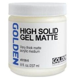 Golden High Solid Gel Matte 8oz- 8 oz