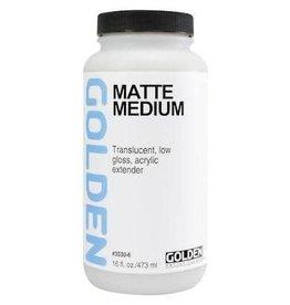 Golden Matte Medium  16 oz