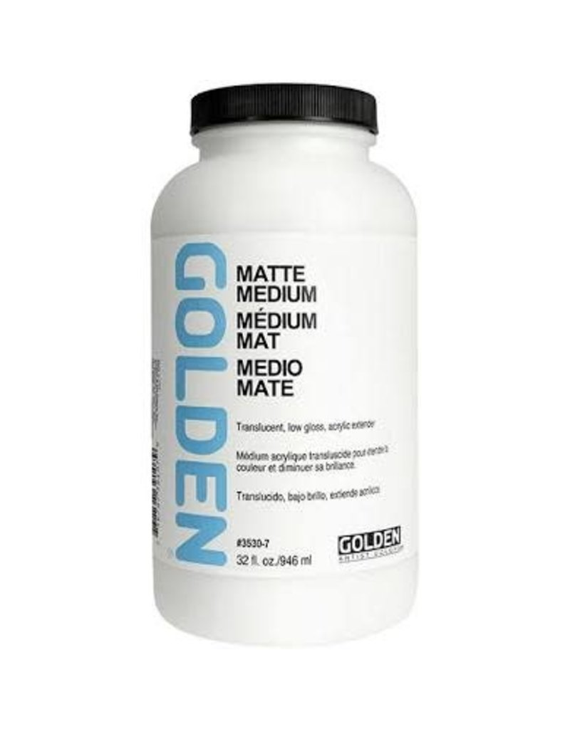 Golden Matte Medium 32 oz