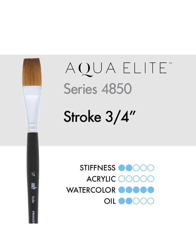 Princeton Aqua Elite Syn Kol Wc Strk 3/4
