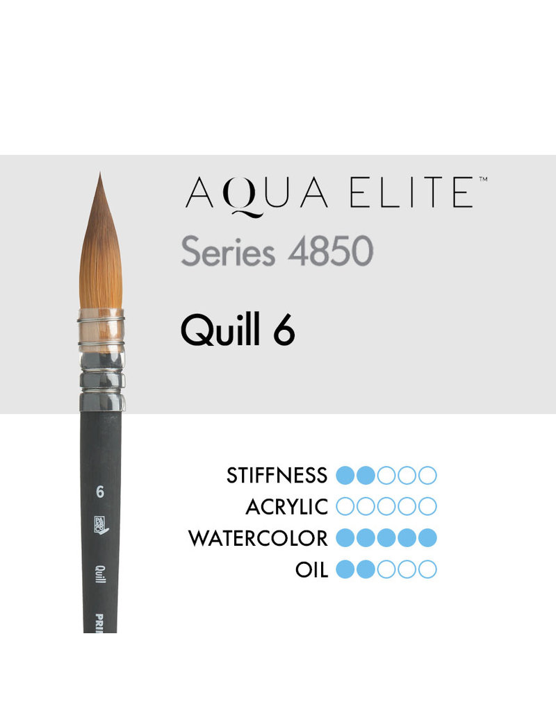 Princeton Aqua Elite Syn Kol Wc Quill 6