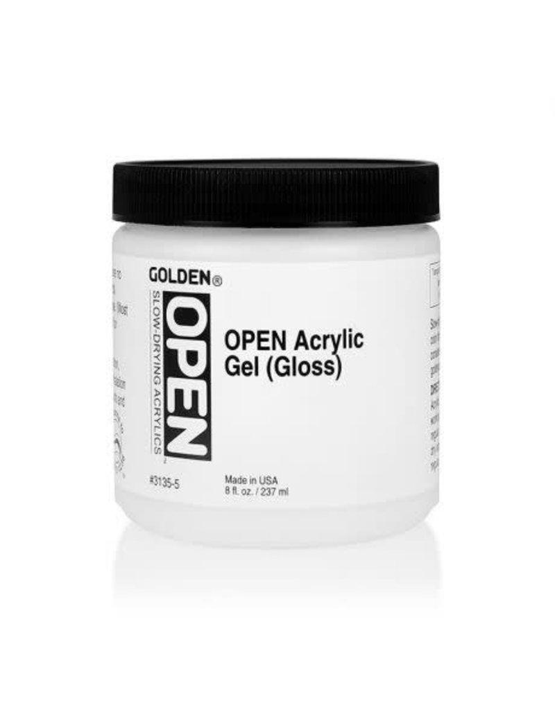 Golden Open Acrylic Gel (Gloss)- 8 oz