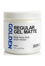 Golden Regular Gel Matte 16oz