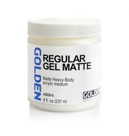 Golden Regular Gel Matte 8oz