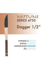 Princeton Neptune Synthetic Squirrel Dagger 1/2