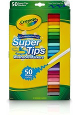 Crayola Crayola Markers Super Tips 50Ct