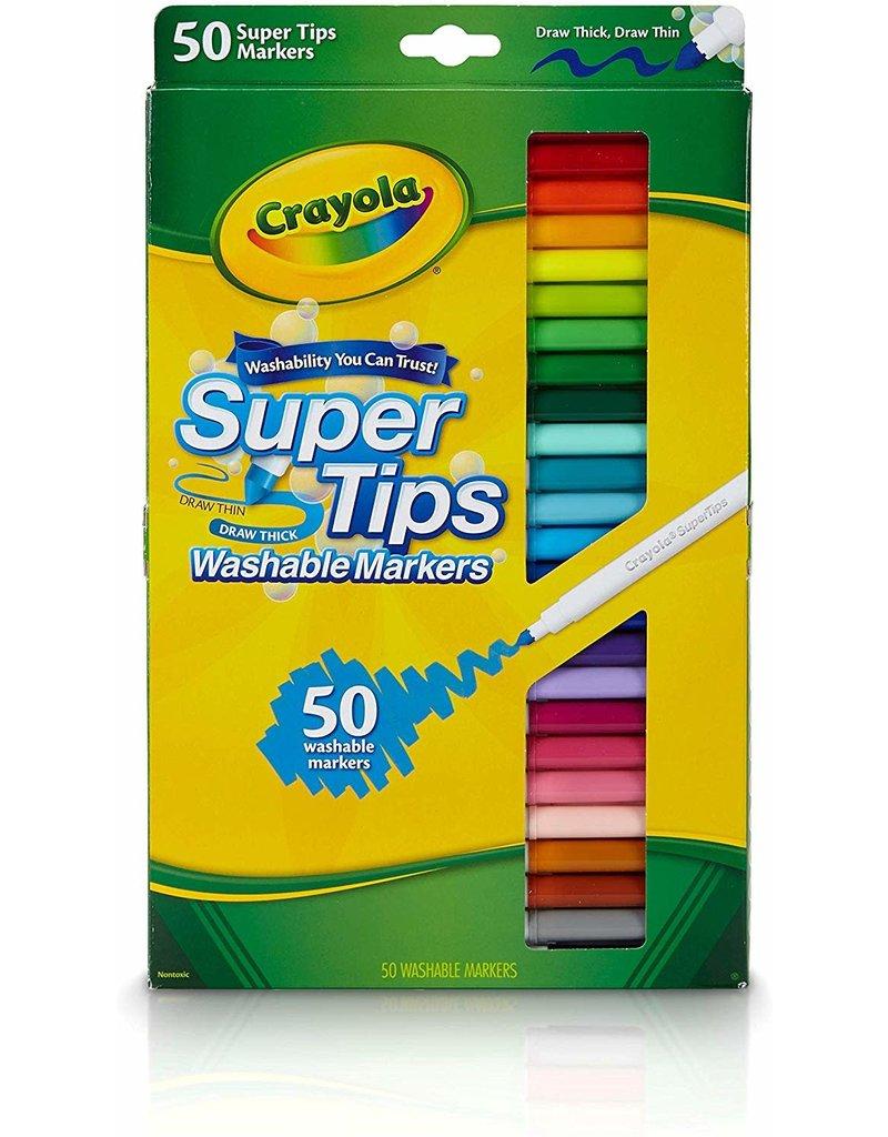 Crayola Crayola Markers Super Tips 50Ct