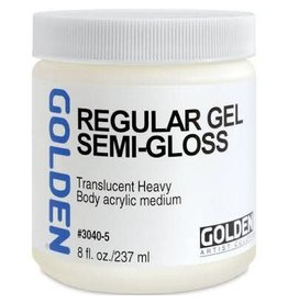 Golden Regular Gel Semi-Gloss- 8 oz