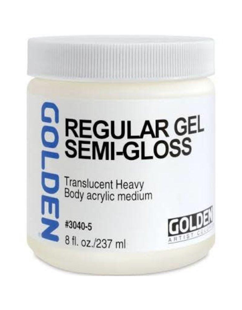 Golden Regular Gel Semi-Gloss- 8 oz