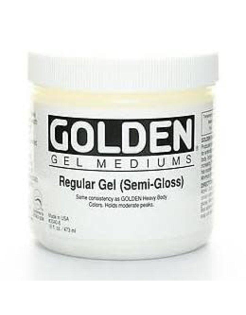 Golden Regular Gel Semi-Gloss- 16 oz