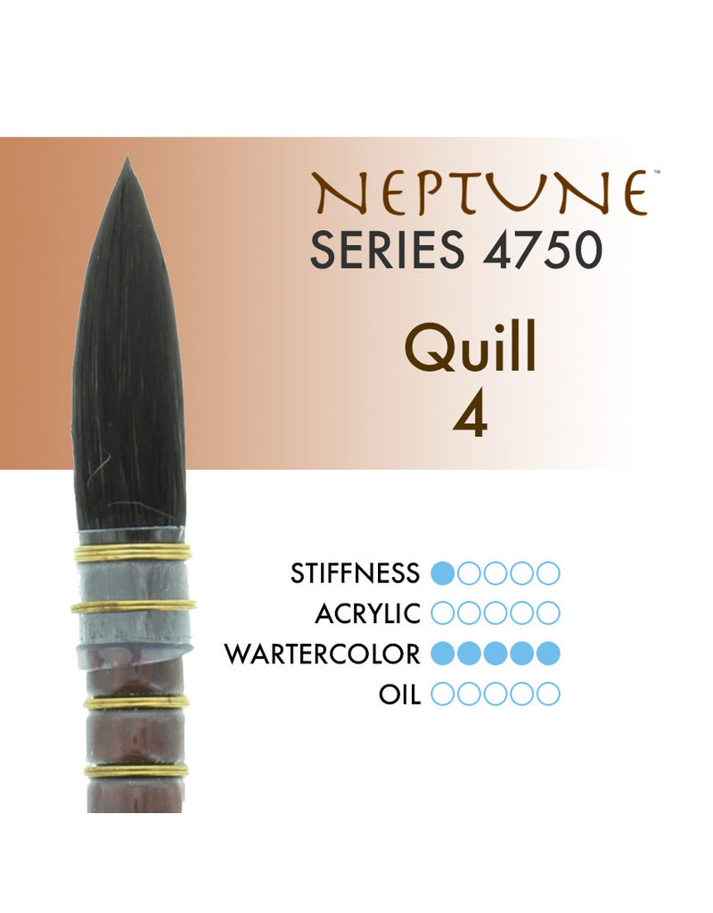 Princeton Neptune Syn Squirrel Quill 4