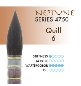 Princeton Neptune Synthetic Squirrel Quill 6