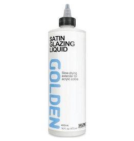 Golden Satin Glazing Liquid 16 oz