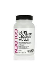 Golden Satin Polymer Varnish W/Uvls  8 oz