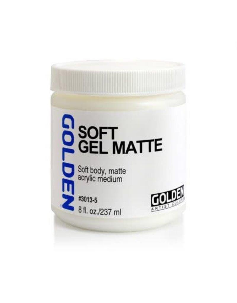 Golden Soft Gel Matte  8 oz