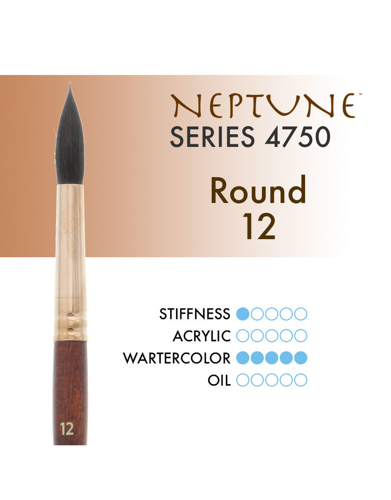 Princeton Neptune Synthetic Squirrel Round 12