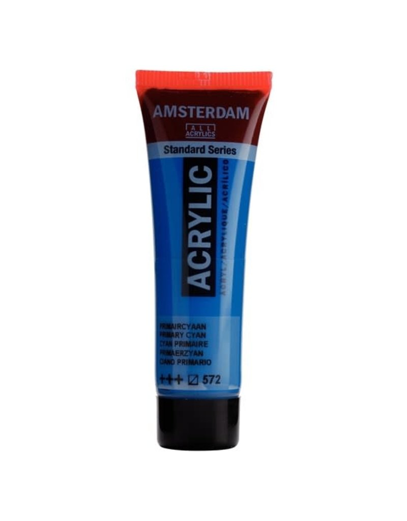 Royal Talens Amsterdam Acrylics 120Ml Primary Cyan