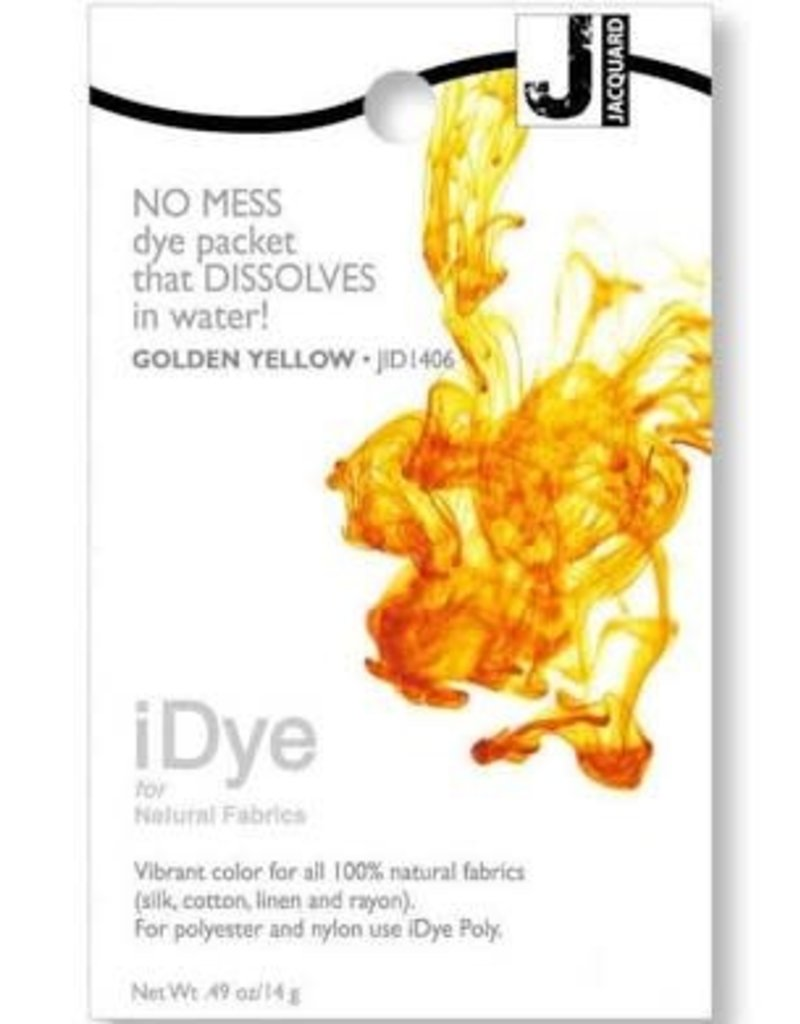Jacquard Idye Golden Yellow 14Gm Pk