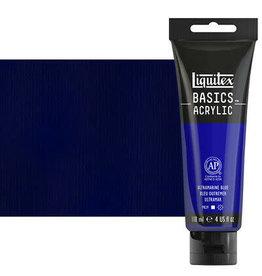 Liquitex Basics 4Oz Ultramarine Blue