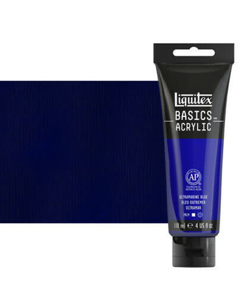 Liquitex Basics 4Oz Ultramarine Blue