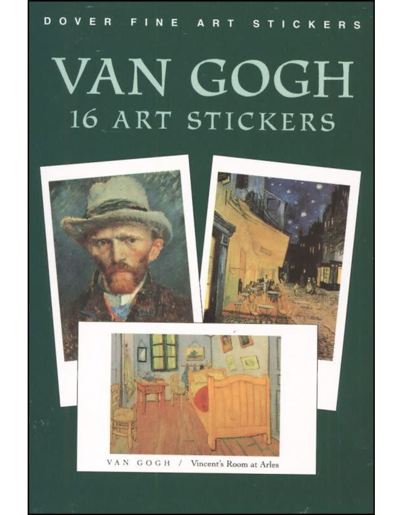 Dover Fine Art Stickers, Van Gogh