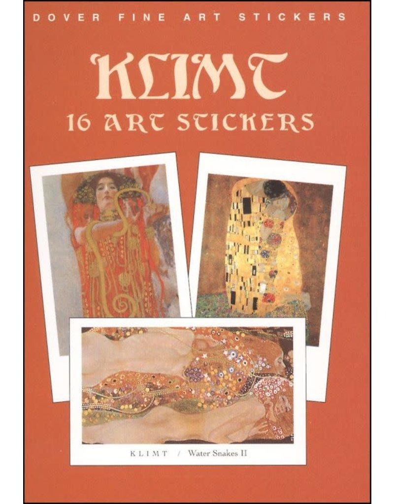 Dover Fine Art Stickers, Klimt