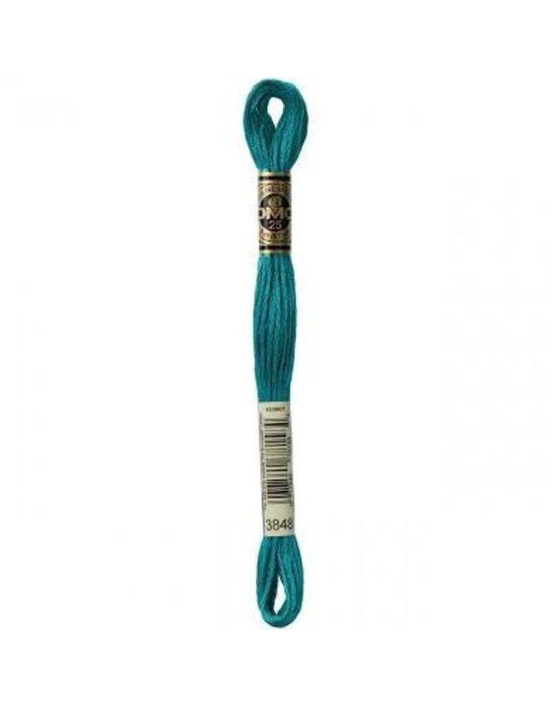 DMC Floss Med Teal Green 3848