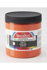 Speedball Acrylic Screen Printing Ink Orange 8oz