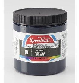 Speedball Acrylic Screen Printing Ink Dark Blue 8oz