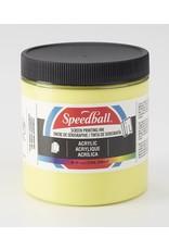 Speedball Acrylic Screen Printing Ink Primrose Yellow 8oz