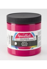 Speedball Acrylic Screen Printing Ink Process Magenta 8oz