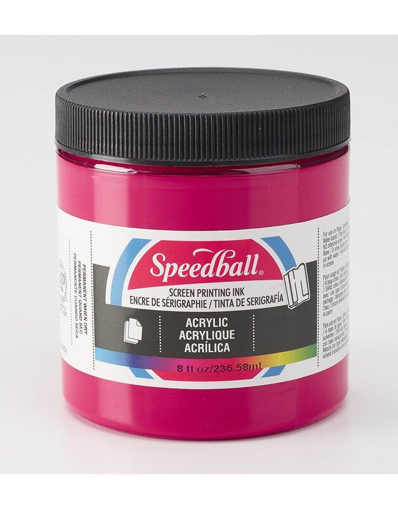 Speedball Acrylic Screen Printing Ink Process Magenta 8oz