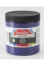Speedball Acrylic Screen Printing Ink Violet 8oz