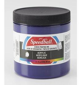 Speedball Acrylic Screen Printing Ink Violet 8oz
