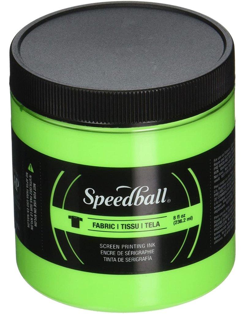 Speedball Fluorescent Screen Printing Ink Lime Green 8oz