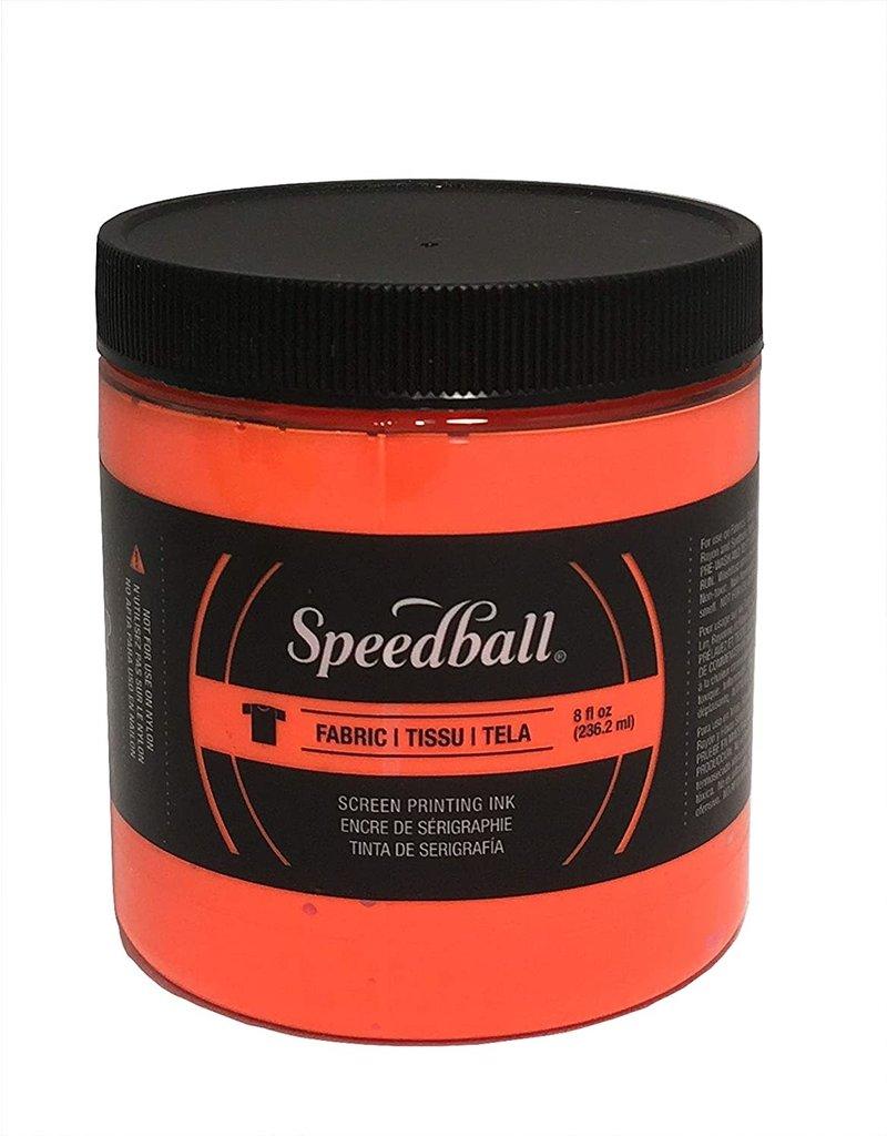 Speedball Fluorescent Screen Printing Ink Orange 8oz