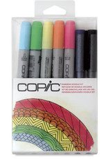 Copic COPIC Doodle Packs & Kits, 7 Markers