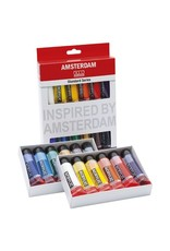 Talens Amsterdam Standard Series Acrylic Paint Sets, 12 Color Set - 20Ml