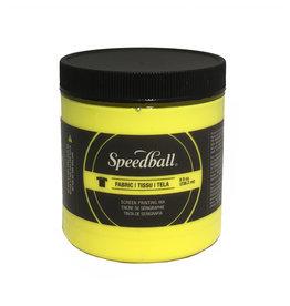 Speedball Fluorescent Screen Printing Ink Yellow 8oz