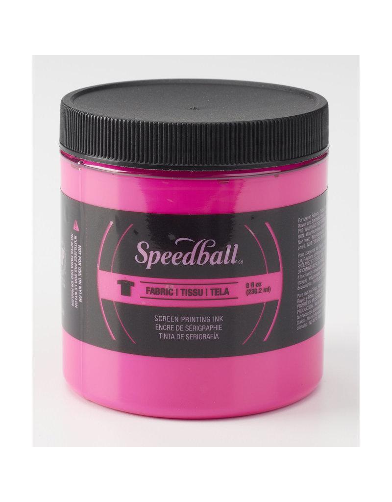 Speedball Fluorescent Screen Printing Ink Magenta 8oz